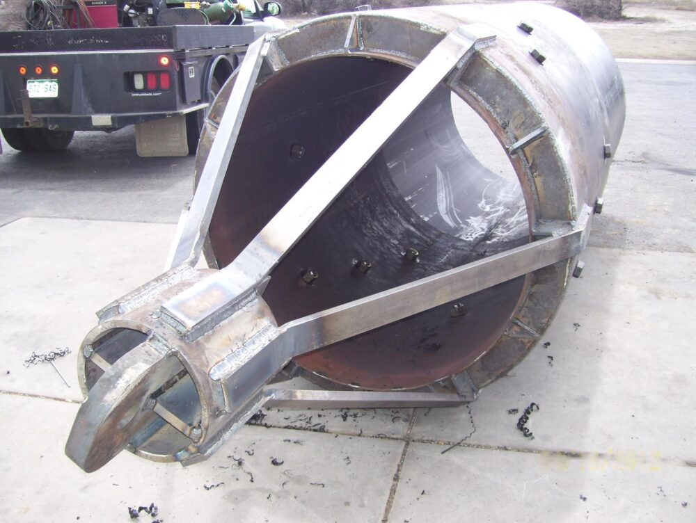 Heavy Steel Industrial Fabrication